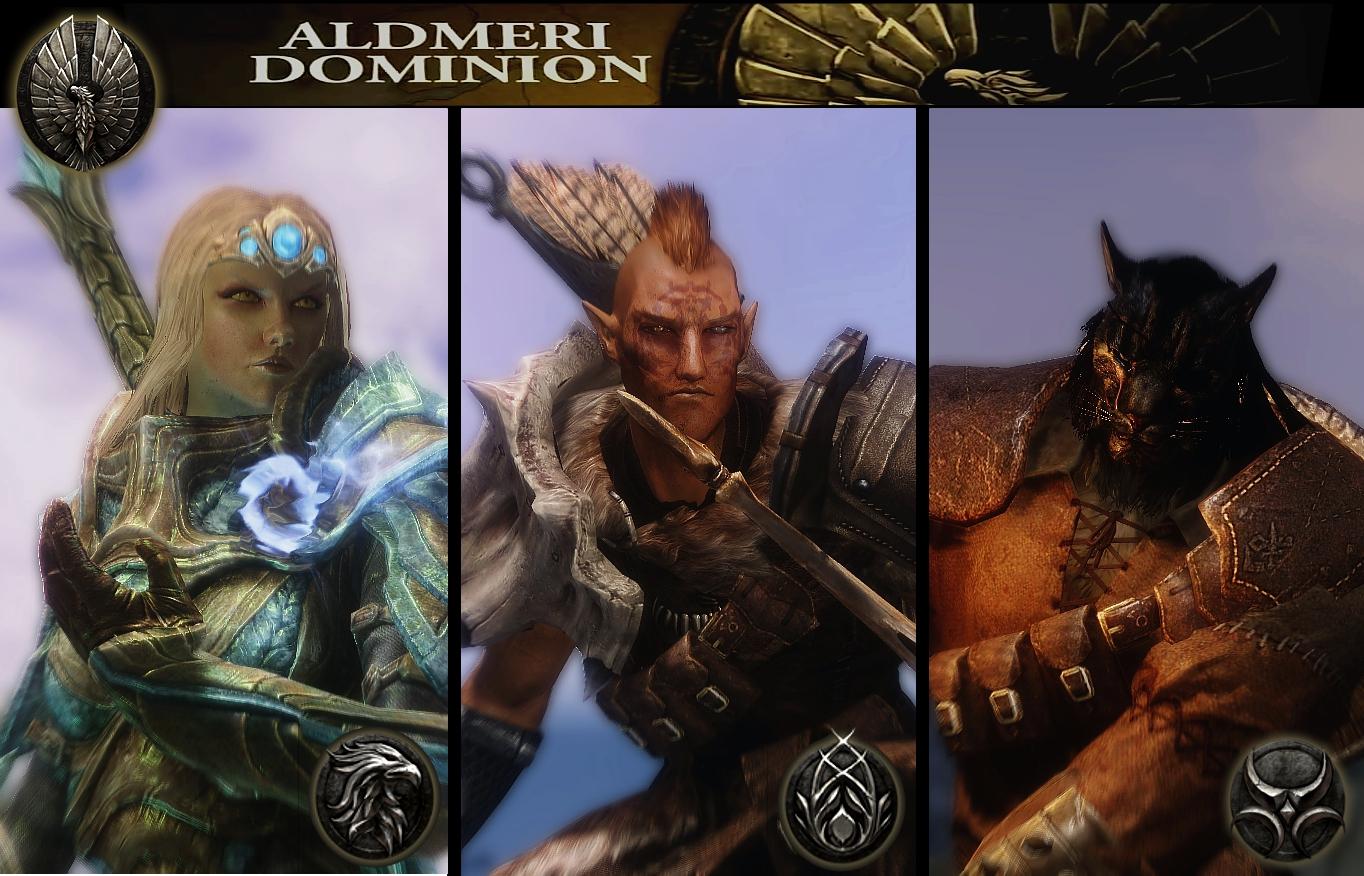 Aldmeri-Dominion-Races