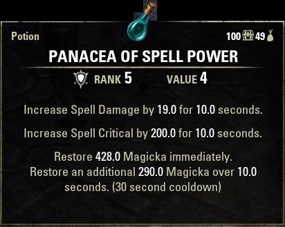 Panacea-of-Spell-Power-Potion