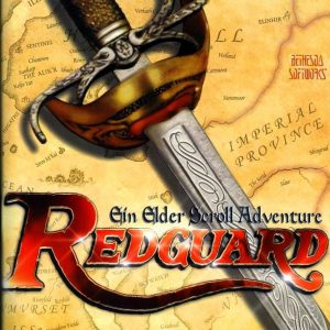 Elder Scrolls Adventures Redguard pc front