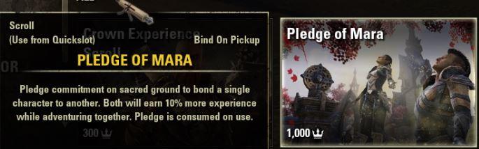 pledge of mara