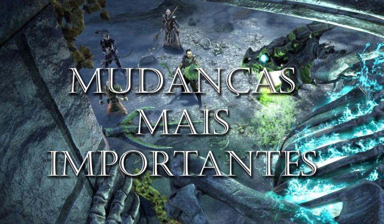 MUDANÇAS MAIS IMPORTANTES – DLC DRAGON BONES – Universo ESO