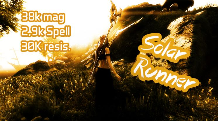 Magicka Templar – Solar Runner PVP Build – Summerset