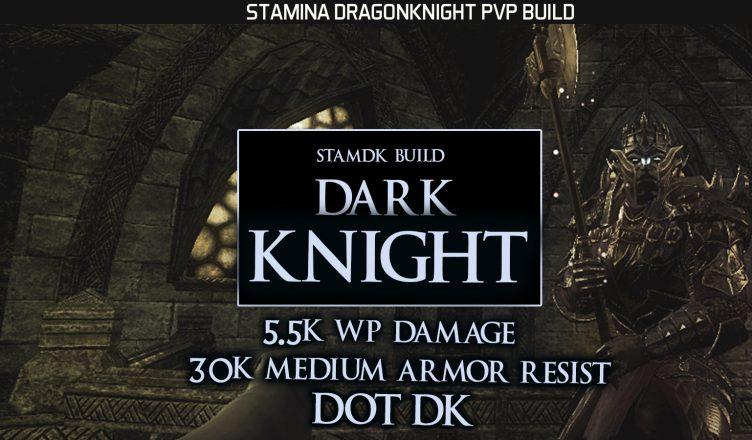 """Stamina Dragonknight PvP Build – """"Dark Knight"""" – ESO Murkmire"""