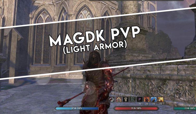 Magicka Dragonknight (Light Armor) PvP – Universo ESO